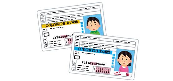 必要 変更 免許 書類 証 住所